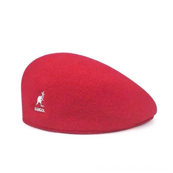 Red Wool-L (58-60cm)
