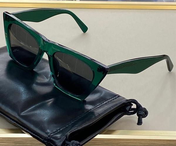 녹색 회색 렌즈