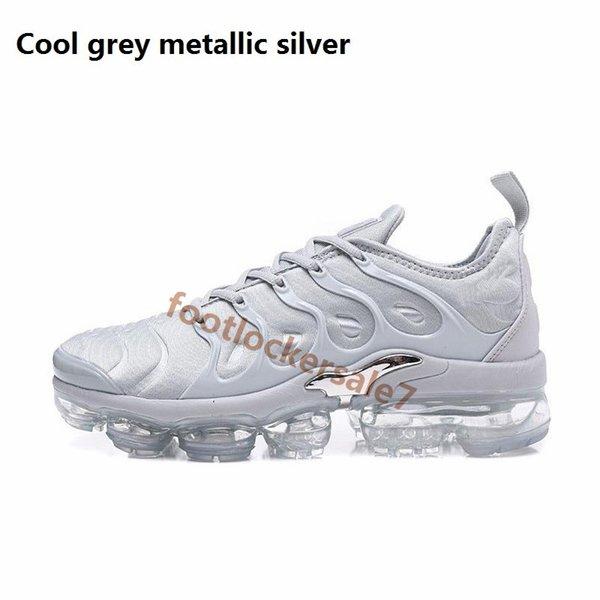 Soğuk gri metalik gümüş