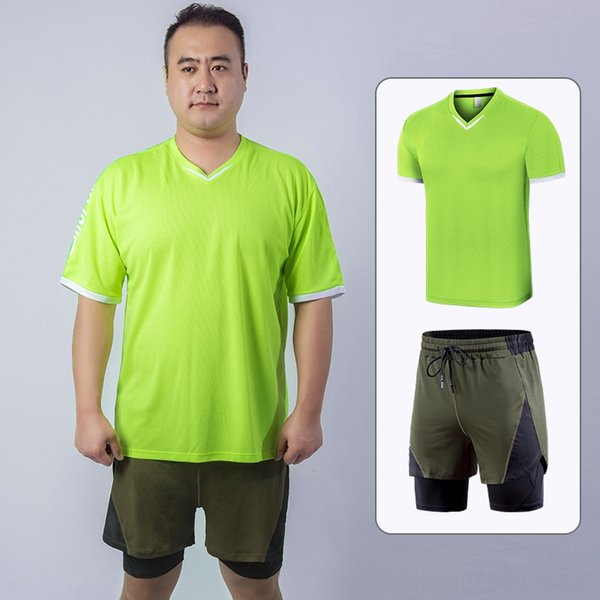 Zweiteiliges Set von Extra-Fett Short Sleeve