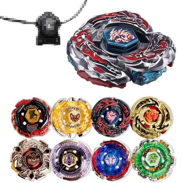 top popular 40 Styles Beyblade Fidget Spinner Constellation Beyblade Burst Beyblades Metal Alloy Fusion 4D Launcher Gyro Spinning Top Kit Toys For Kids 2020