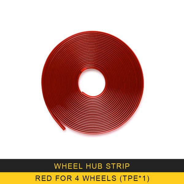 Rot für 4 Räder