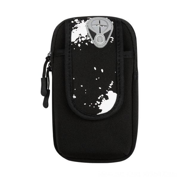 Alte Tauch Arm Bag-schwarz-Large Größe: 5-6