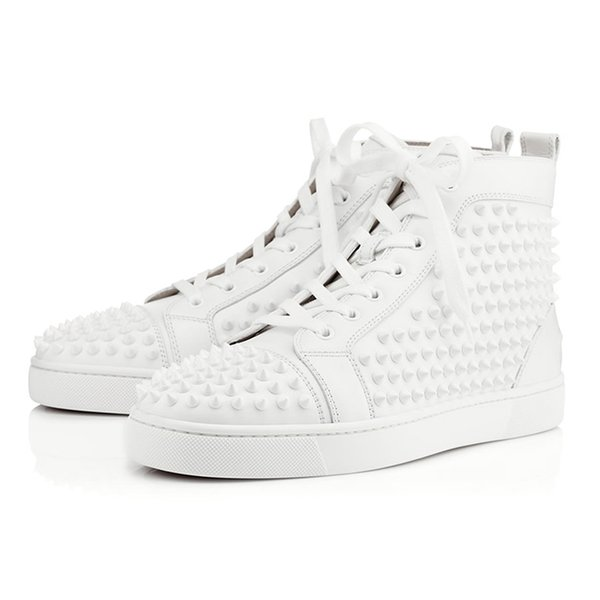 # 3 White in pelle Spike
