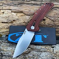 red rosewood handle