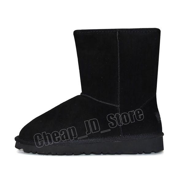 4 Klasik kısa Boot - Siyah