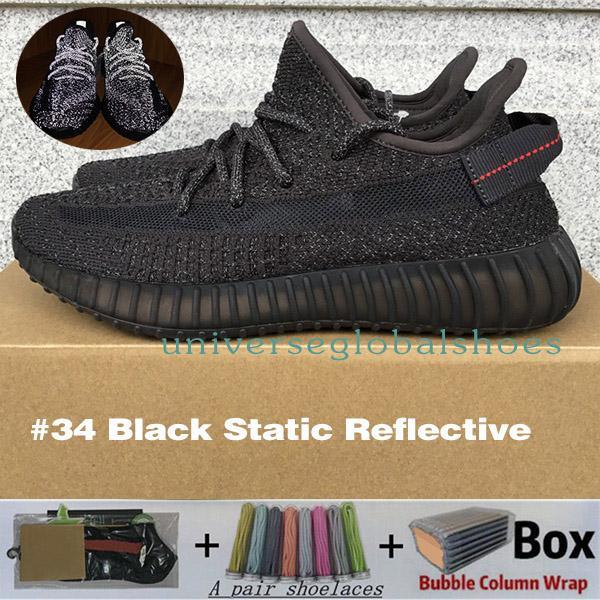 # 34 Black Static Reflective