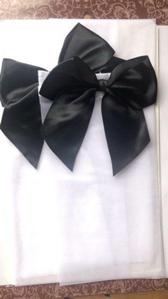 Black + White-One Size