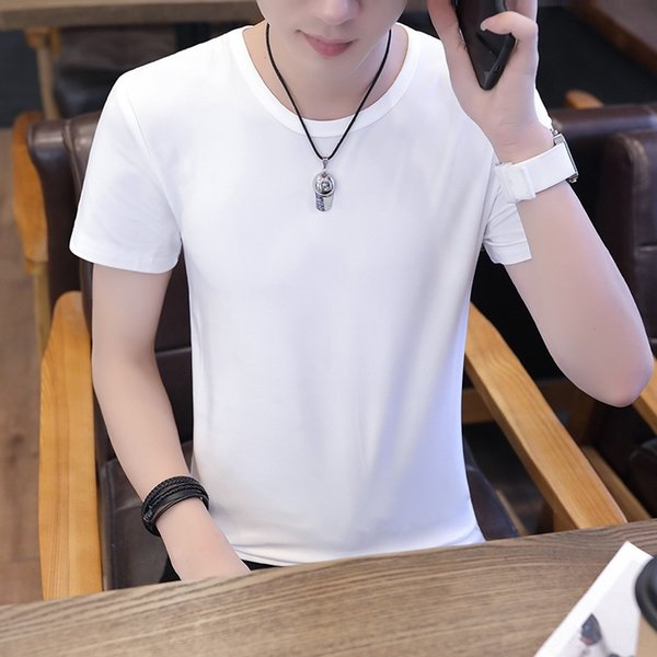 Тонкая футболка Белая