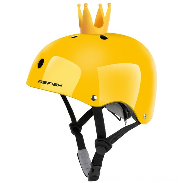 Bright Yellow + Crown