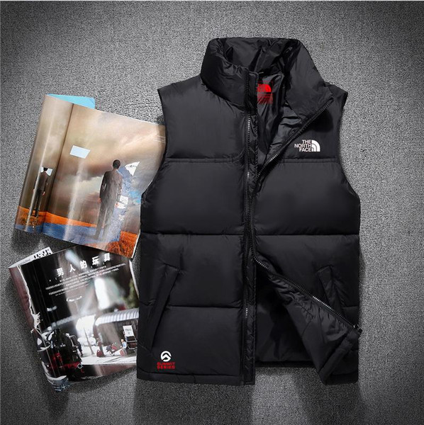 best selling 2020 Men's Winter Down Vests Jacket Puffer Jacket Hooded Thick Coat Jacket Men High Quality Down Jackets Men Women Couples Parka Winter Coat