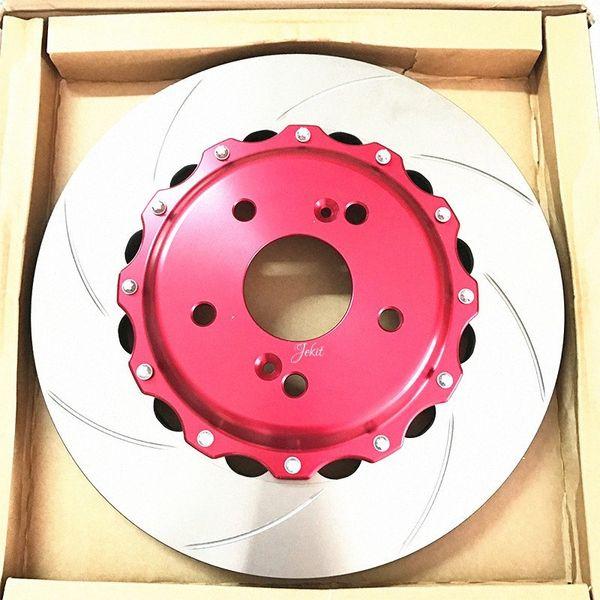 best selling Jekit 300*24 for JK racing ap7600 red brake caliper covers kit auto part of brake disc fit for 16RIM 206 rbVl#