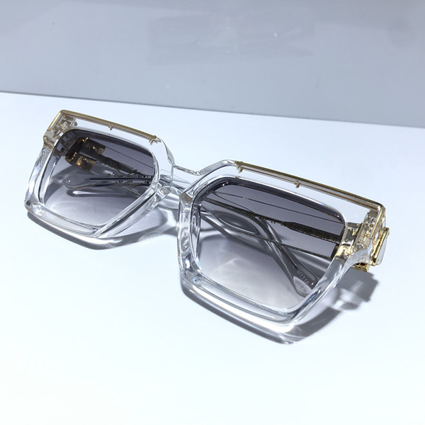 transparenter Rahmen Grau verlaufend Linse