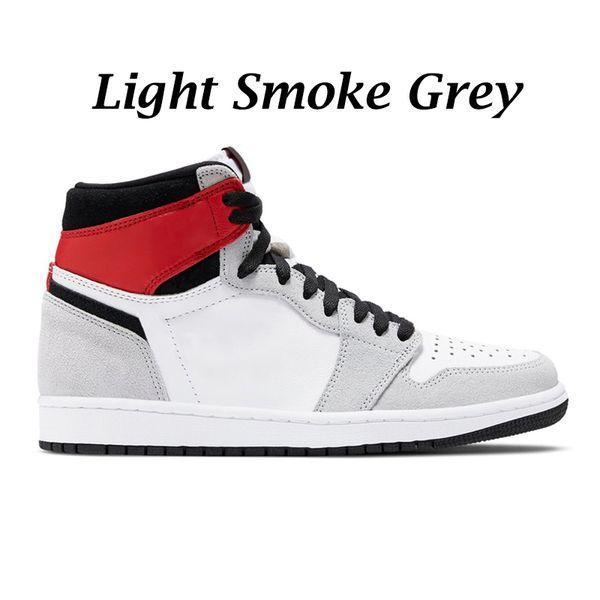 Светлый дым серый