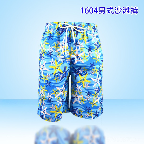 K1604 pantalones de la playa de los hombres