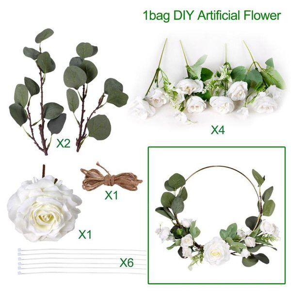 White DIY flower
