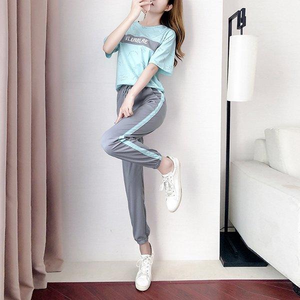 Blu (top + pants)