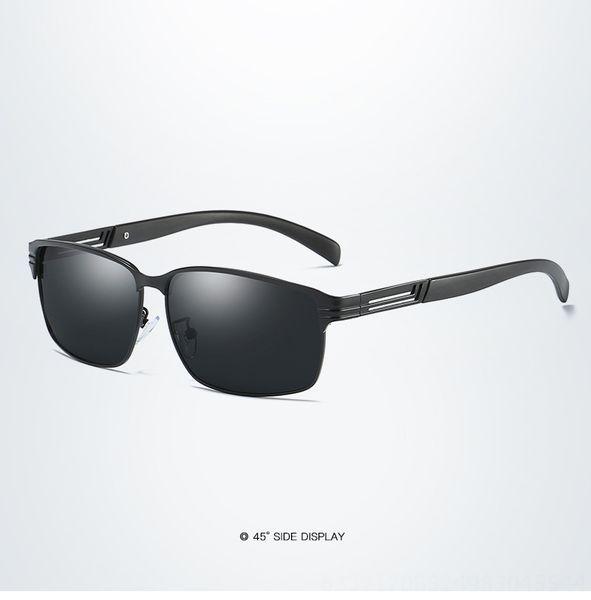 Black Frame Gray Slice #1