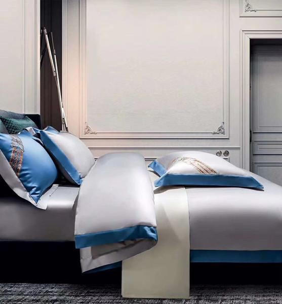 4 pcs conjunto de roupa de cama