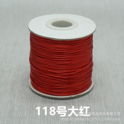 No. 118 Red-1.2mmx200 Taille (inventaire Ch