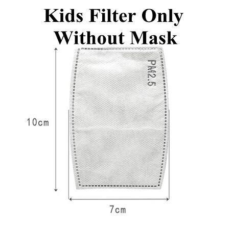 Kinder Nur Filter, keine Maske