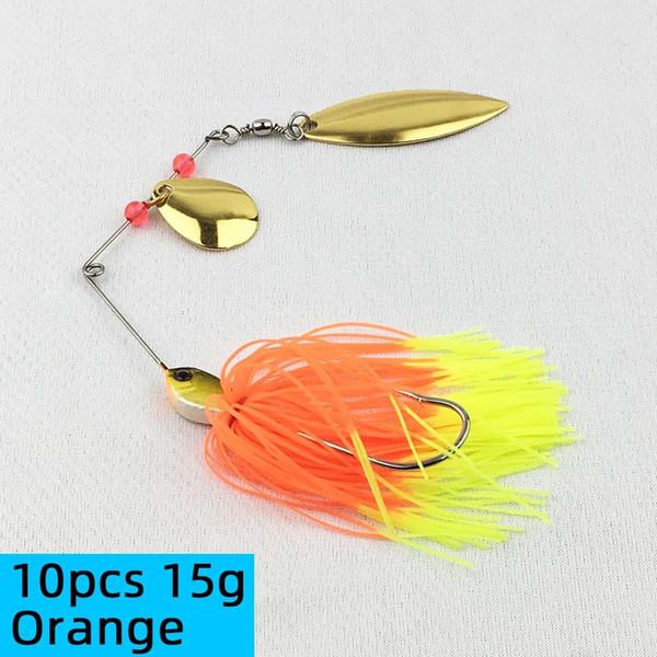 10pcs 15g Orange