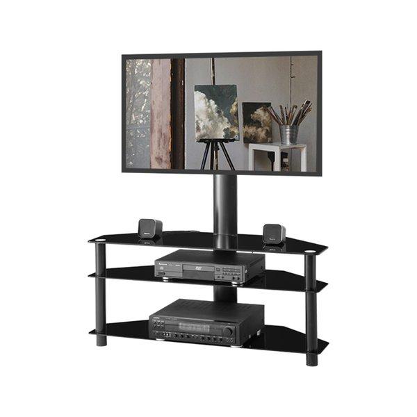 черная Подставка для телевизора