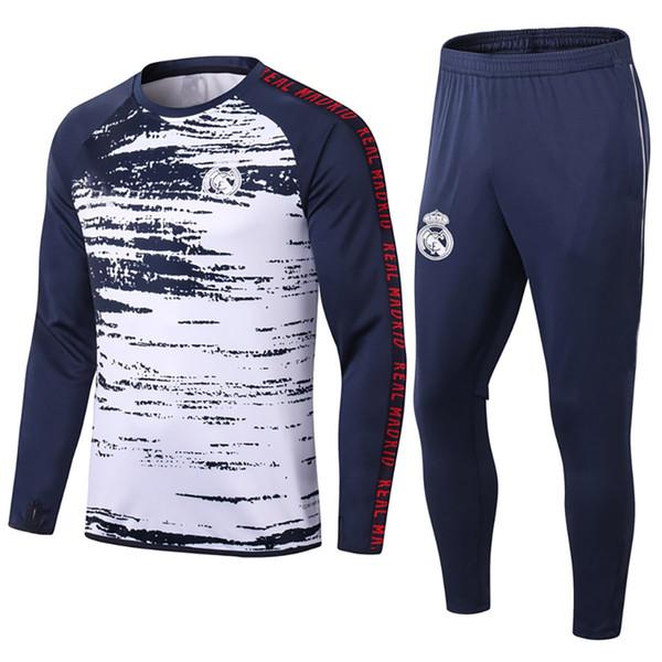 ريال مدريد أزرق داكن الأبيض 2021