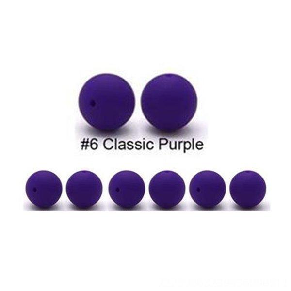 No. 6 púrpura oscura