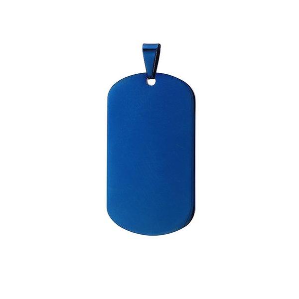 Esquina redonda de color azul