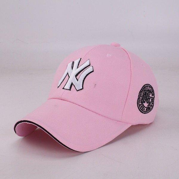 Розовый Hat Белый н Черный Side Black Side-A