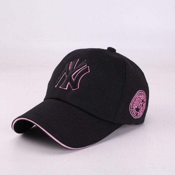 Black Hat Black п Pink Side Вышивание-A