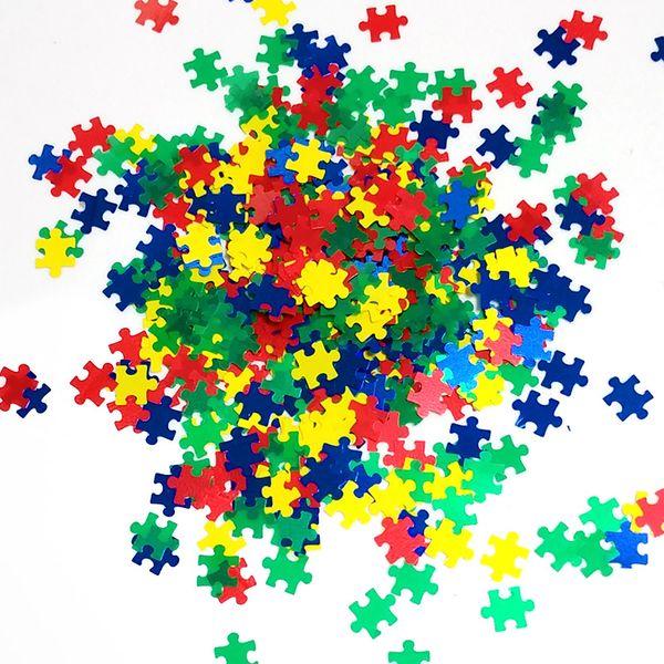 puzzle coloré