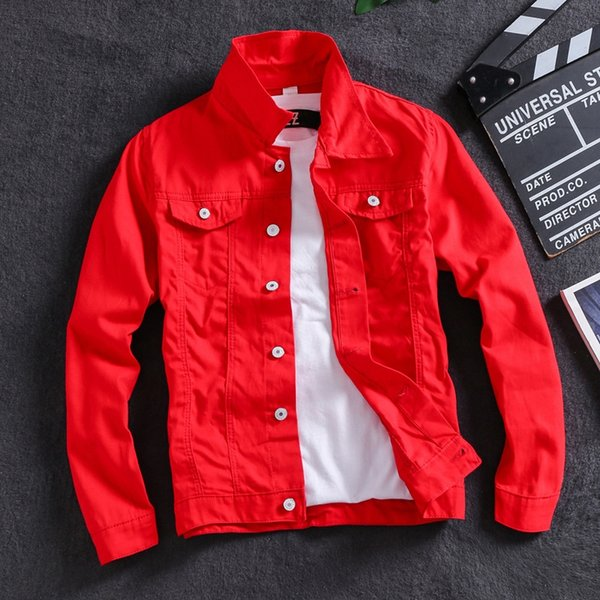 Solido Jacket Colore Rosso
