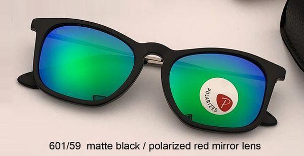 negro mate / espejo verde polarizado