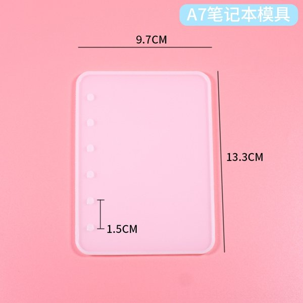 Silicone Mold: A7 Notebook (single Side)