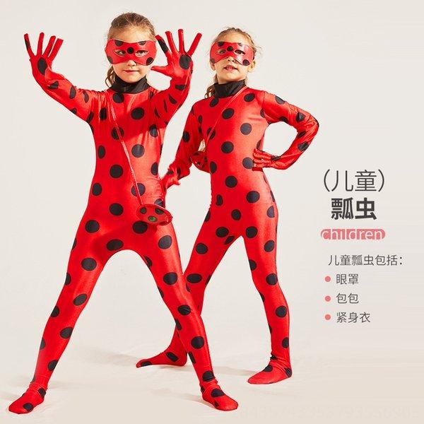 Crianças # 039; s Red Ladybug Roupa + Ma Eye