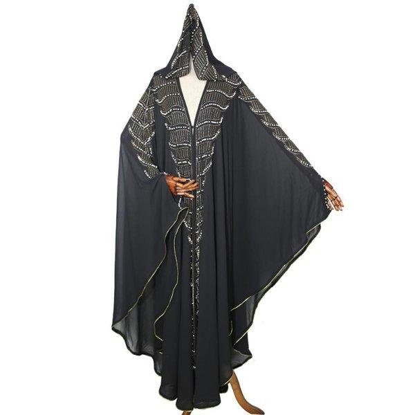 Fuera de negro vestido Un tamaño