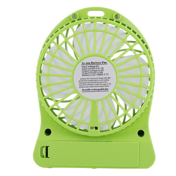 top popular 33333 Mini Portable USB Cooling Fan, Summer Cooling Fan for Office, Car, Home, Travel, Vacation and Beach 2021