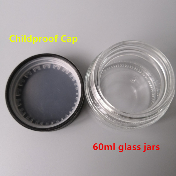 60ml glass jar