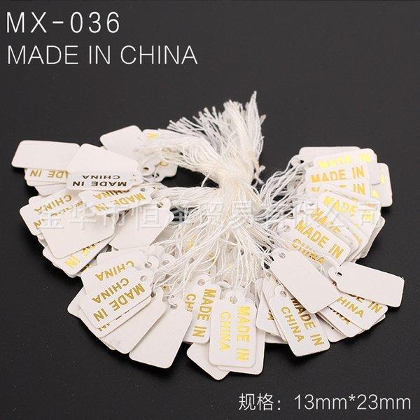 Mx-036-un paquet de 100 pièces