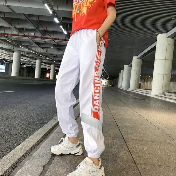 8820 Beyaz Kırmızı Pantolon