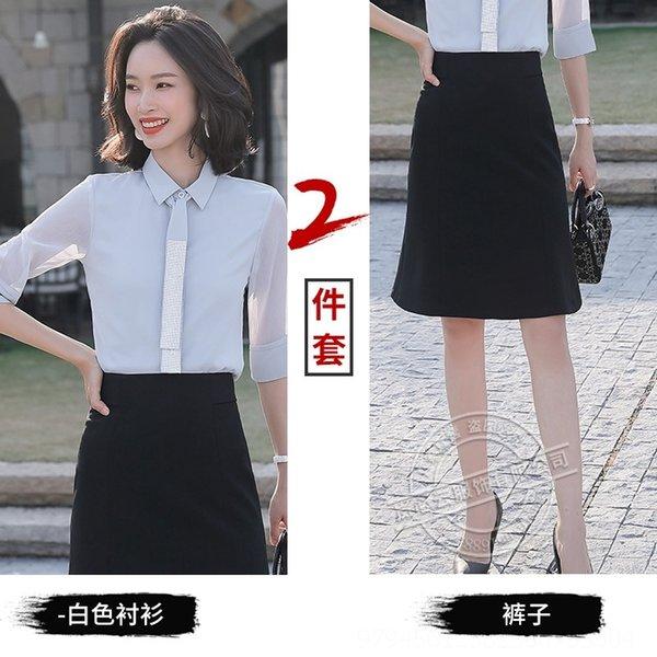 Camisa branca + saia C26