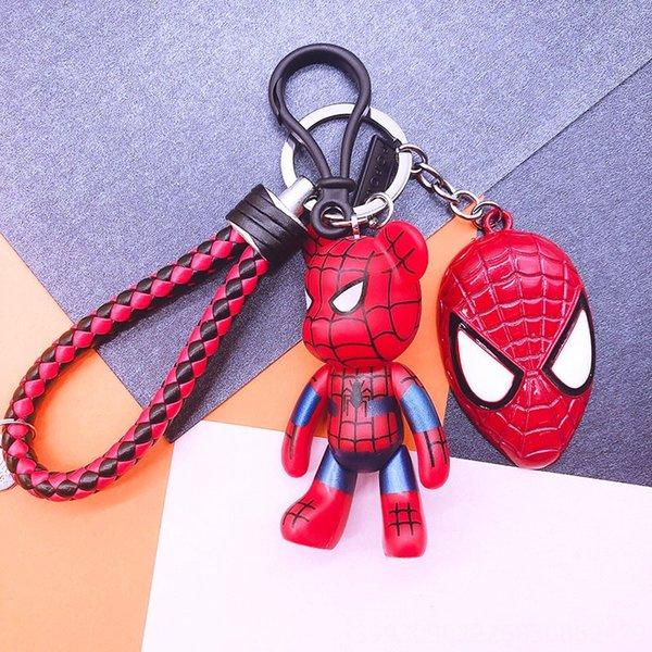 Red Spider-man + Rouge Noir Corde en cuir