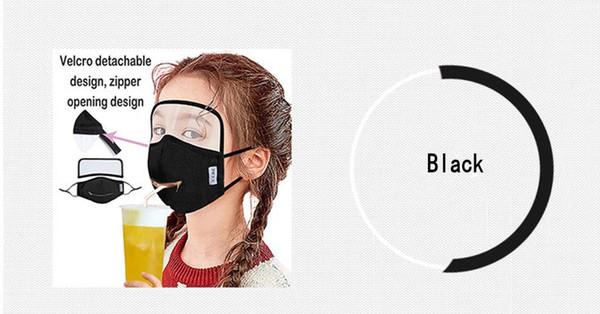 Schwarz / Zipper Abnehmbarer