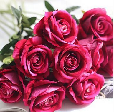 Роза красная 10шт