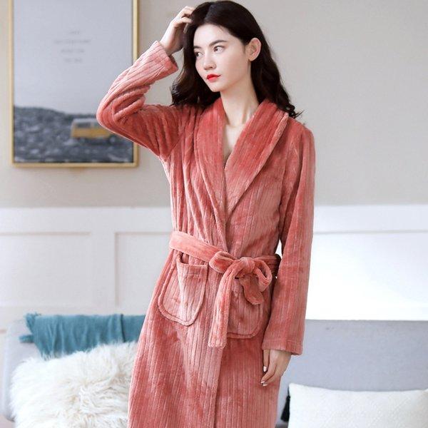 Мисо Полосатые Женщины # 039; s Robe Y723