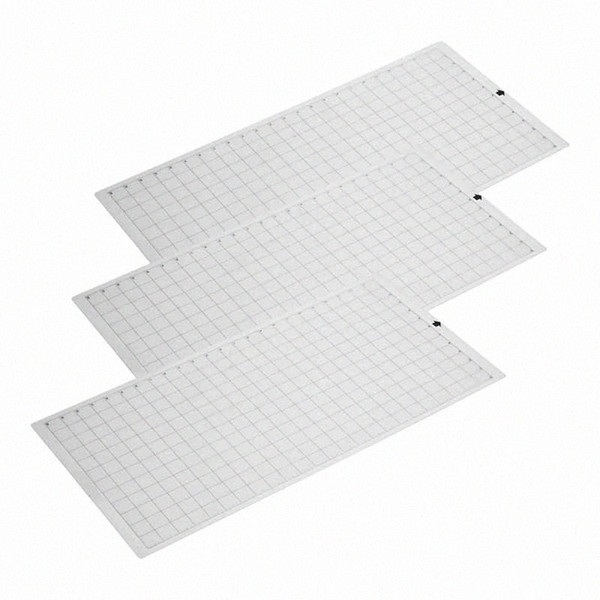 best selling 3Pcs Replacement Cutting Mat Transparent Adhesive Mat With Measuring Grid For Silhouette Cameo Cricut Explore 0vqP#