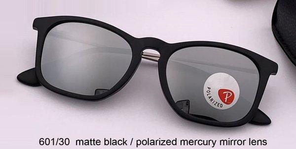 espejo de mercurio negro / polarizado mate