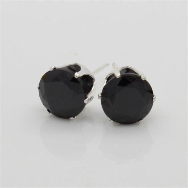 Яркий черный циркон-6мм (мм)